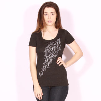 "5165467e7 ""River of Shears"" ladies triblend scoop tee"
